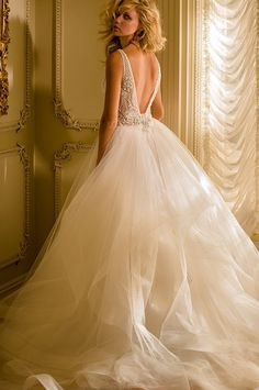 Glamorous Wedding Dresses with Couture Details - MODwedding