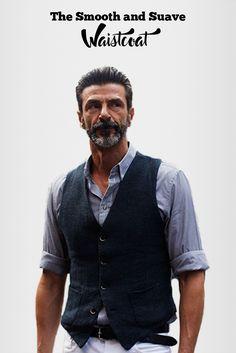 Suave Waistcoat that every man should definitely have