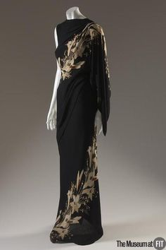evening Dress Elsa Schiaparelli, 1935 The Museum at FIT - OMG that dress!