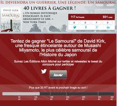 Twitter - Retweet Contest Albin Michel #Socialshaker