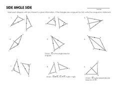 Printables Triangle Congruence Worksheet triangles and worksheets on pinterest congruent worksheet mrmillermath