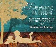 There are many little ways to enlarge your childs world. Love of books is the best of all. #booksthatmatter #bookhugs #bloomingtwig #yourstory