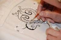 Malování na textil Arabic Calligraphy, Art, Art Background, Kunst, Arabic Calligraphy Art, Performing Arts, Art Education Resources, Artworks
