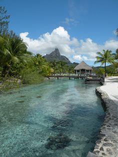 Le Méridien Resort in Bora Bora, French Polynesia