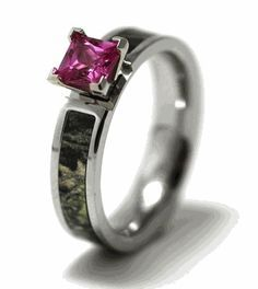 One day real tree camo engagement ring Southern Love Pinterest