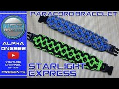 How To Make The Endless Falls Paracord Survival Bracelet With Buckle Fast Easy Simple - YouTube