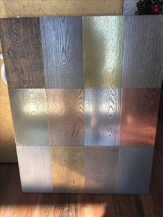 Painted Wood Floors, Concrete Floors, Wood Stain, Copper Splashback, Metallic Paint Walls, Liquid Metal, Metal Floor, Loft Interiors, Metal Screen