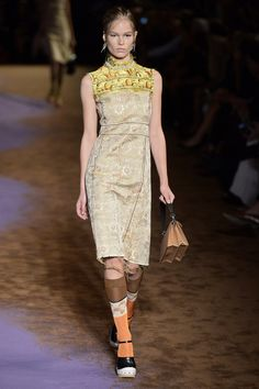 Pin for Later: Germany's Next Topmodel ganz ohne Casting-Show Prada Frühjahr/Sommer 2015