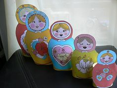 3 Russian Crafts for Kids by Having Fun at Home