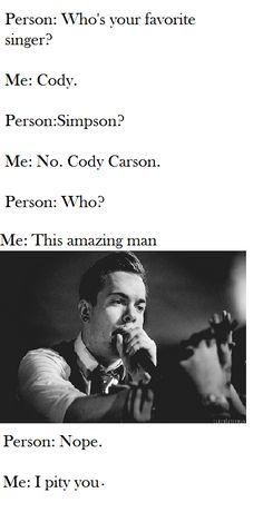 Cody carson by RainbowScript (das me!)