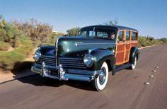 1946 Hudson super six wagon.  Woody.