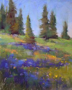 Colorado Lupines -- Karen Margulis