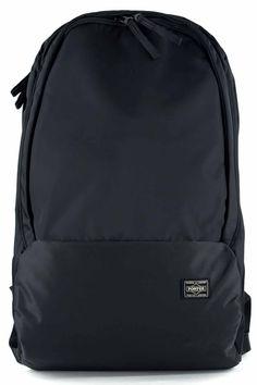Porter Yoshida Porter - Drive - Day Pack - Black Porter Yoshida, Japanese Fashion, Packing, Backpacks, Mood, Bags, Bag Packaging, Handbags, Taschen