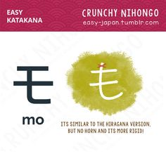 Crunchy Nihongo! - BASIC - EASY KATAKANA  Katakana sound is exactly...