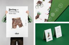Hotel Eder - Branding on Behance