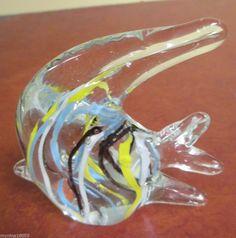 Blown glass angel fish - photo#19
