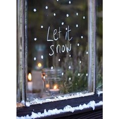 70 Awesome Christmas Window Décor Ideas DigsDigs ❤ liked on Polyvore featuring backgrounds and xmas