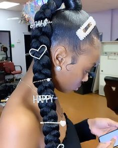 - All For Hairstyles Ponytail Styles, Braid Styles, Curly Hair Styles, Natural Hair Styles, Baddie Hairstyles, Ponytail Hairstyles, Pretty Hairstyles, Daily Hairstyles, Winter Hairstyles
