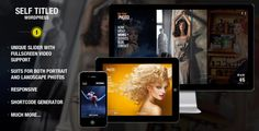 Self Titled - responsive & unique WordPress theme - ThemeForest Item for Sale