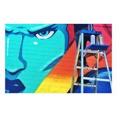 Carlsbad   #MDMN #art #carlsbad #carlsbadinn #CarlsbadArtWall #scifiart #comicbookart #paintlife #Radtimes #senorgrubbys #sandiego by madmanart