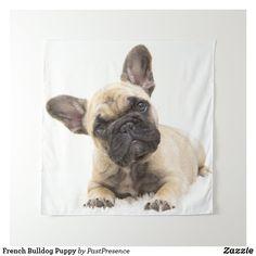French Bulldog Puppy Tapestry