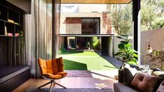 An historic Victorian terrace was given a new lease of life by Matt Gibson and Karen Batchelor of Matt Gibson Architecture + Design, which maintains its heritage ethos with a contemporary extension and interior. Melbourne Architecture, Architecture Design, Victorian Terrace, Victorian Homes, Metal Window Frames, Brickwork, Traditional House, House Tours, Building A House
