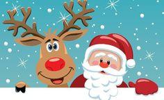 dibujos de renos de navidad para imprimir