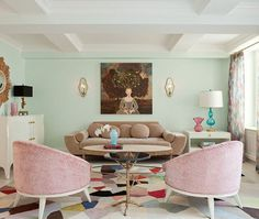 Quirky & Colourful Condo Living Room photo Emily Gilbert | via Stribling Private Brokerage | House & Home