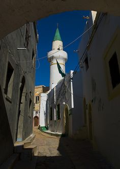 Mosque in the medina, Tripoli, Libya by Eric Lafforgue, via Flickr