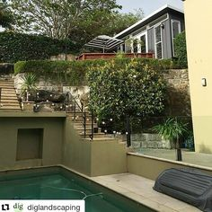 #Repost  from our friends at @diglandscaping with @repostapp   Planting Day. Our ultimate teenage retreat is really coming together. Can't wait to see and share the final result. Shoutout to our mates @melwood_cabanas #diglandscaping #designinstallgrow#gardendesign #sydney #outdoorliving
