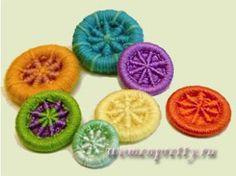 Плетеные пуговицы / braided buttons