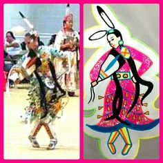 A beautiful dancer created by  our fan @scrawnytaunie and made with her BERNINA