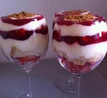 Recette - Mon tiramisu fraises - Notée 4.1/5 par les internautes