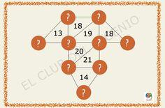 Cálculos matemáticos incompletos #gimnasiamental
