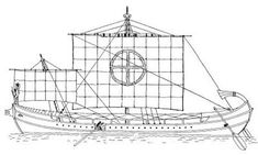Phoenician ship sketch-Writing almost 200 years after the events in question, Herodotus records in The Histories the Phoenicians' claim to have sailed into dangerous, uncharted waters and circumnavigated Africa