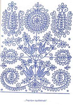 Magyar motívumok gyűjteménye Chain Stitch Embroidery, Tambour Embroidery, Hungarian Embroidery, Embroidery Works, Folk Embroidery, Shirt Embroidery, Embroidery Stitches, Embroidery Designs, Scandinavian Folk Art