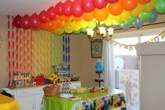 Sesame Street party for my 2 year old
