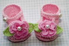 CC22-Flower Mary Janes Pattern