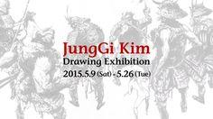 JungGi Kim Interview「JungGi Kim Drawing Exhibition」GEISAI∞infinity第四弾