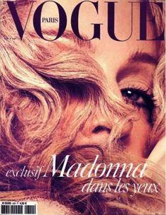 PARIS VOGUE - AUGUST 2004 COVER MODEL - MADONNA