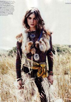 high fashion huntress.