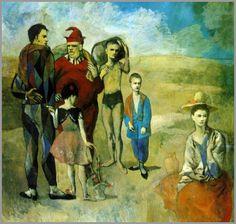 Pablo Picasso, I saltimbanchi, 1905, olio su tela, National Gallery of Art, Washington.