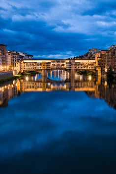 Ponte Vecchio, Florence, Italy - where I wish I was, every.day.
