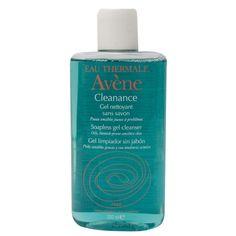 Cleanance Gel Nettoyant é um gel de limpeza facial para a higiene das peles oleosas e acneicas. Limpa a pele com suavidade, regulariza a secreção sebácea, diminui a irritação e limita a proliferação de peles acneicas. R$ 73,00 na Sephora.