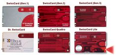 victorinox swiss card | There are two more models: SwissCard Visor & SwissCard Money Clip ...