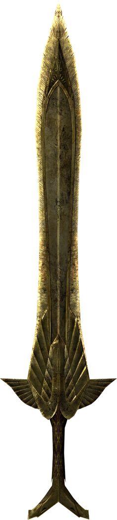 Elven Sword - Elder Scrolls - Wikia