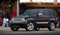This is my husbands car, a Jeep Liberty. The insurance every moth costs $116.50.