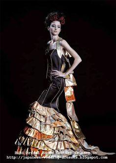 Japanese Wedding Dresses Beyond the Kimono: Bibi Bridal House' Kimono Couture Collection