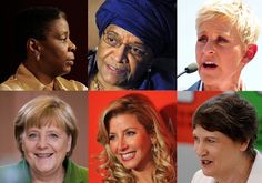"The Worlds Most Powerful Women 2013 - Forbes - Top politicians and CEOs, activist billionaires and celebrities who matter.  This year the list features 9 heads of state, 24 corporate CEOs,  16 of the women here founded their own companies, 14 billionaires, and 15 newcomers.  40%  of the women on the list are ""female firsts,"" such as African head of state (Liberia's Ellen Johnson Sirleaf),"