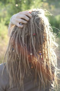 Realistically, this is what I think my future dreads will look like. :-)